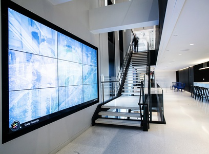 image 2273 Sony Headquarters Interior Architectural Photography nyc