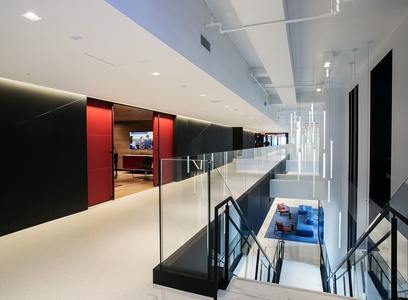 image 2270 Sony Headquarters Interior Architectural Photography nyc