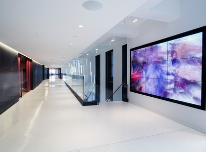 image 2269 Sony Headquarters Interior Architectural Photography nyc