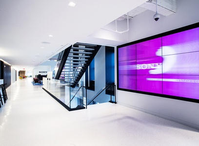 image 2274 Sony Headquarters Interior Architectural Photography nyc