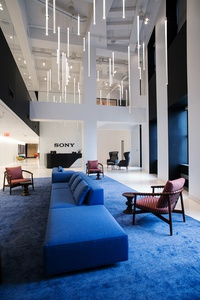 image 2272 Sony Headquarters Interior Architectural Photography nyc